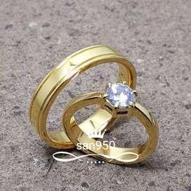 cincin kawin emas couple new