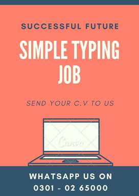 We are providing scam less online job for students _simple typing