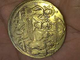 Old coin indian