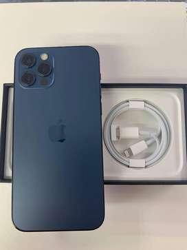 Urgent sell 12 pro max , 128 gb , blue color