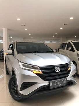 Lowkm10rbuan terios 2018 X at bandung 1 tgn tt rush xpander brv 2019