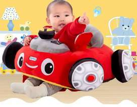 Kids Cartoon Car Sofa And Sofa Support Sit Plus Toy