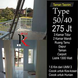Rumah murah hanya 1,6 km dari UMM 3 cocok kost