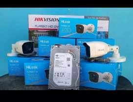 paket kamera cctv fullsett kualitas 2mp free pasang
