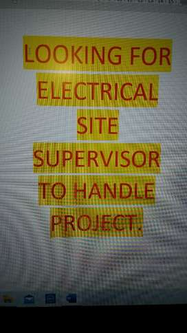 Electrical site supervisor