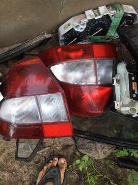 Ford ikon bumper fan disc tyre tail lamp meater ecu ecm