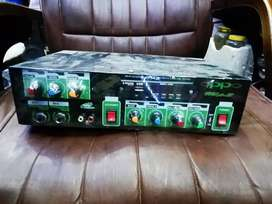 Mic system amplifier 2 mic options