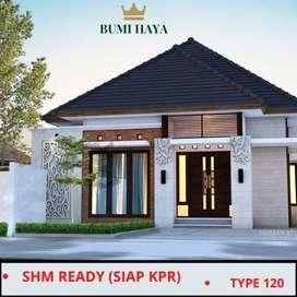 Rumah Mewah Sleman Type 120 View Merapi Merbabu Include IMB
