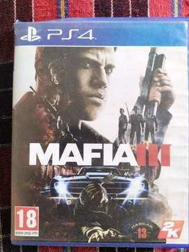 Mafia 3 and street fighter for ps4