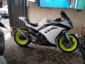 ninja 250 FI 2012 B dki selatan pjk pnjng TT/BT
