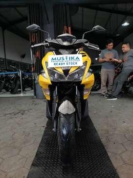 Yamaha Aerox 155 VVA 2018. KM 21rb. Warna Favorit.Danny Mustika Motor
