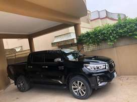 hilux revo 2017 get only on 20% downpayment