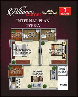 2 Bed Apartment On Installments