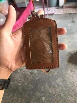 ID Card kulit sapi pull up asli