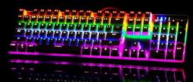 Mechanical keyboards   Gaming Mouse   RGB keyboard Mouse Headphones
