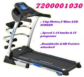 Exclusive Pongal offer on Multi Motorized Treadmill