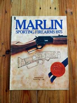 Katalog Antik Marlin Sporting Firearms thn 1975