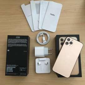 iPhone 11 Pro 512 Gold - No Minus - NEGO Fullset - MULUS TOTAL