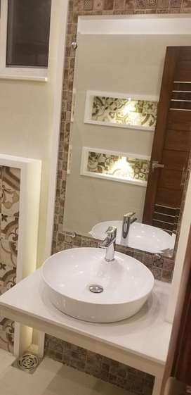 20marla brand new house for sale in Raza Garden canal road fsd