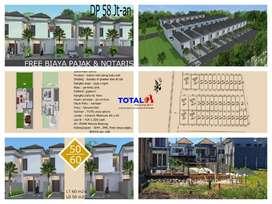 Dijual Rumah 50/60 harga 500 jutaan di Taman Jimbaran, dkt by pass