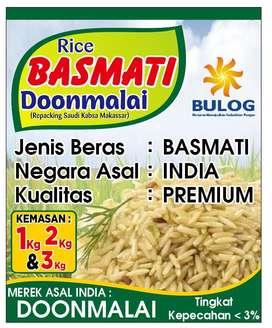Beras Basmati asli India (impor)