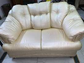 9 seater cream sofa