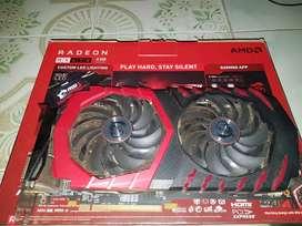 Msi gaming x Rx 470 4gb ddr5 256 bit fulset murah