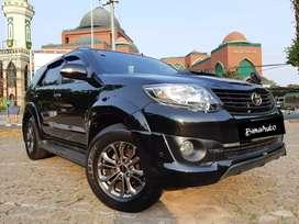 Toyota Fortuner TRD VNT Turbo 2014 Hitam Good Condition