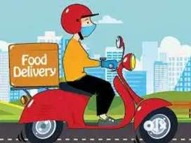 Job for food delivery boy // biker or cyclists//part time or full time