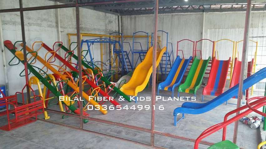 Seesaw for kids 4 seater 0
