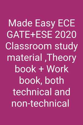 ECE GATE+ESE Study material, year 2020