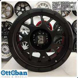Velg mobil Everest Fortuner Pajero murah D Series R20X9 hole 6x139.7