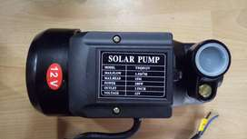 DC operated 12 Volt Water Pump Motor Solar Power battery Operated