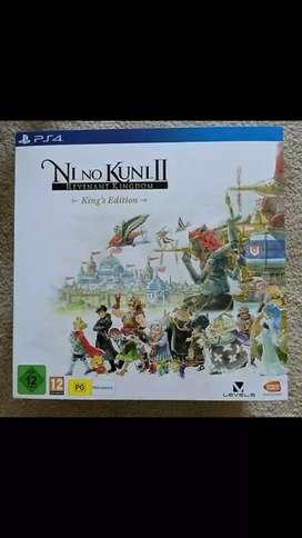 Ni no kuni 2 King's edition PS4 game