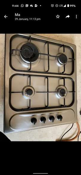 Faber hob and chimney