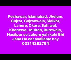 Wagon R available with driver for all pakistan