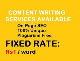Article Writing Content Writing