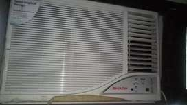 Window Sharp Ac 1.5 ton 3 years old