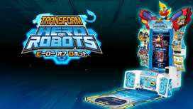 Card game hero of robots