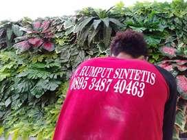 Tanaman Sintetis Dinding | Daun Palsu | Vertical Garden Sintetis