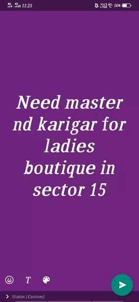 Need master