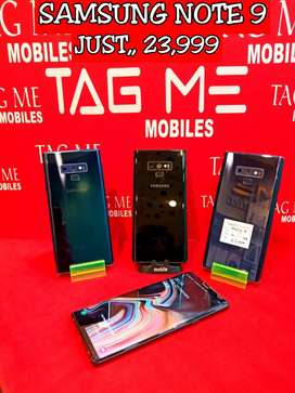 TAG ME SAMSUNG NOTE 9 LITE USED MOBILE