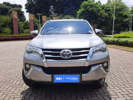 [OLX Autos] Toyota Fortuner VRZ 2017 2.4 A/T Silver #Toko Mobil