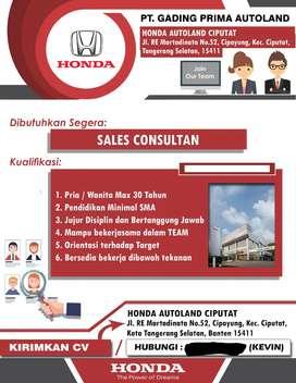 Marketing mobil honda