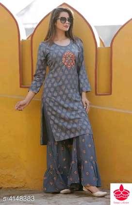 Women kurta with bottom