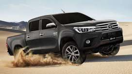 Toyota Hilux ab hasil karen easily monthly installments py