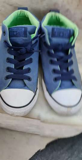 New converse blue shoes