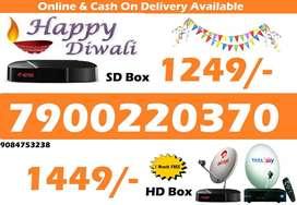 DTH Festival Sale All over india Airtel Tatasky