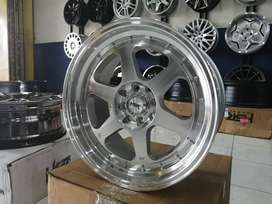 velg mobil racing hsr rumoi ring 17x75-85 pcd 8x100-114