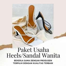 Alih Usaha Heels dan Sandal wanita